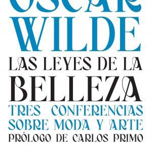Portada La leyes de la belleza de Oscar Wilde
